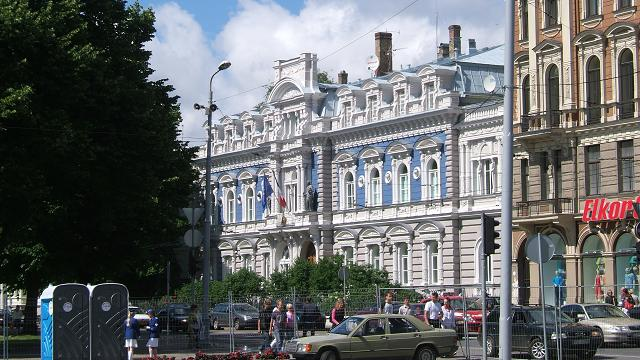 リガ、フランス大使館