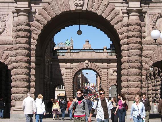 旧市街地入り口
