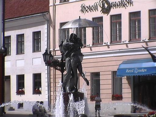 Tartuラエコヤ広場