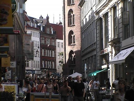 コペンハーゲン 繁華街