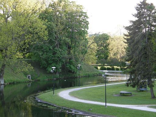 旧市街の公園
