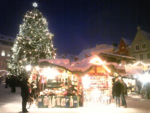 クリスマスマーケット�