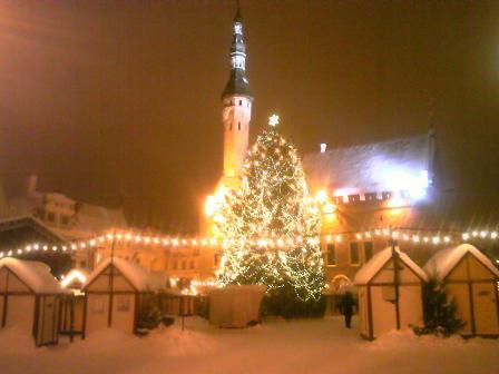 Chistamas Market in Tallin�