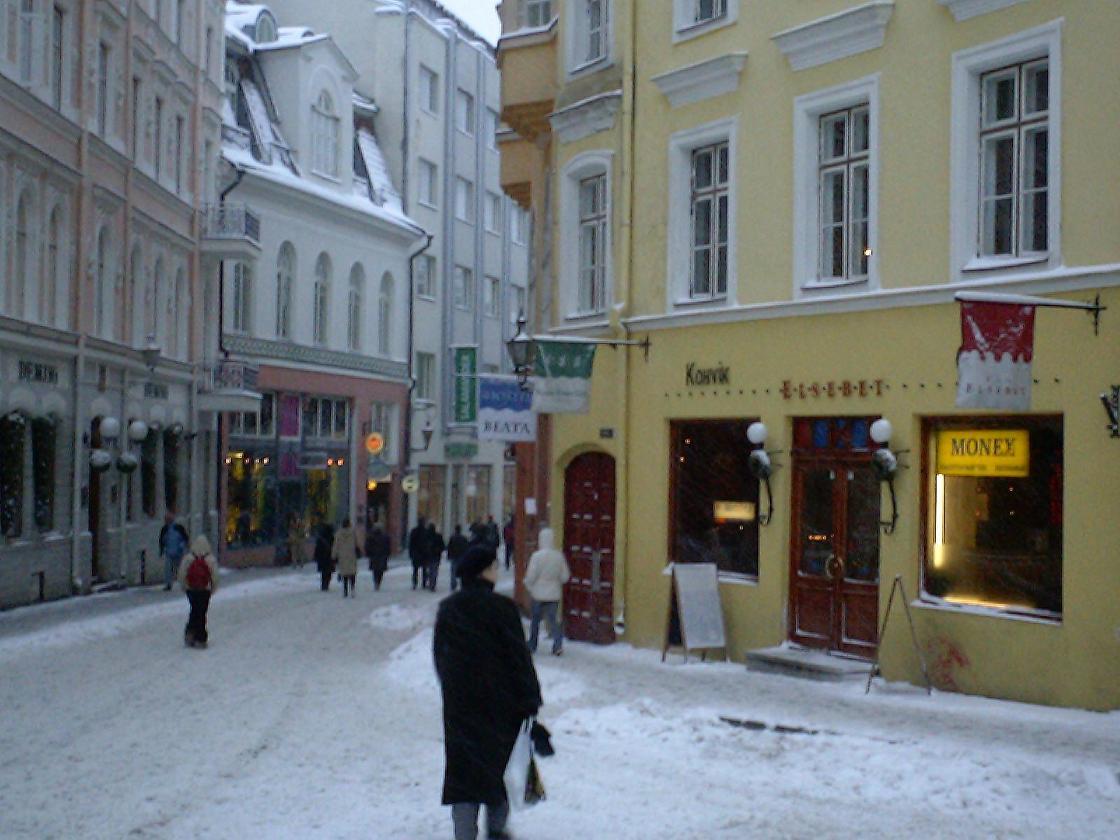 冬メインストリート