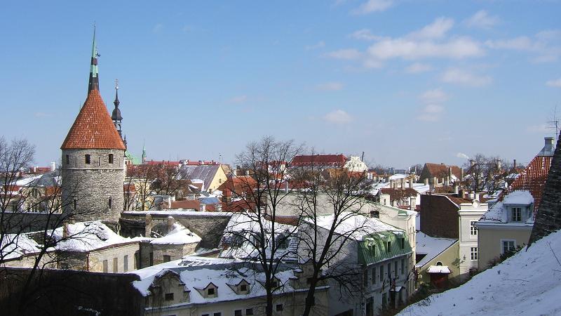 冬季旧市街地その2
