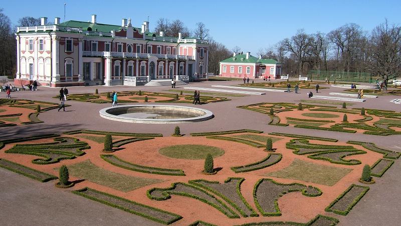海外美術館庭園(カドリオルク宮殿)