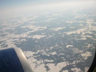 エストニア上空 - 3月